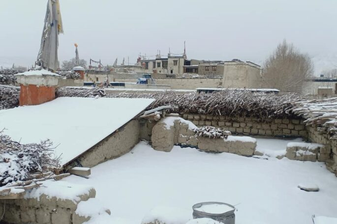 upallo mustang snowfall
