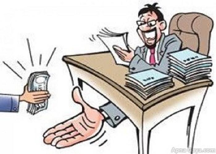 bribe ghush karmachari