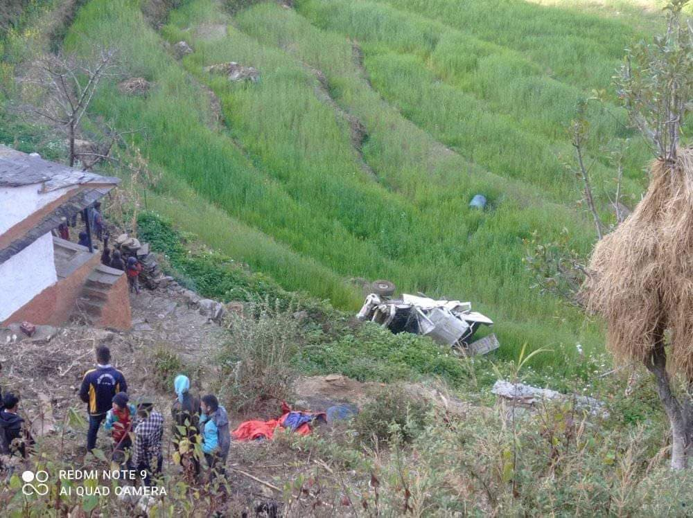 dailekh jeep accident