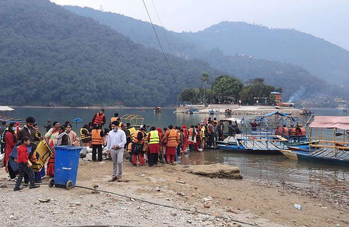 fewa lake recovery rss sancharkarmi