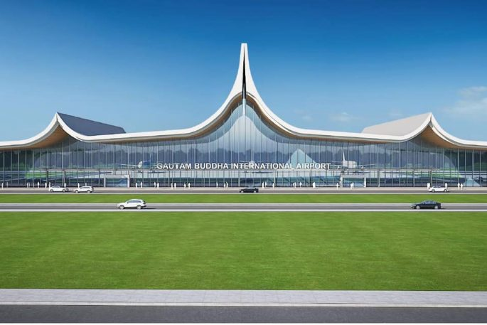 gautam buddha international airport blueprint