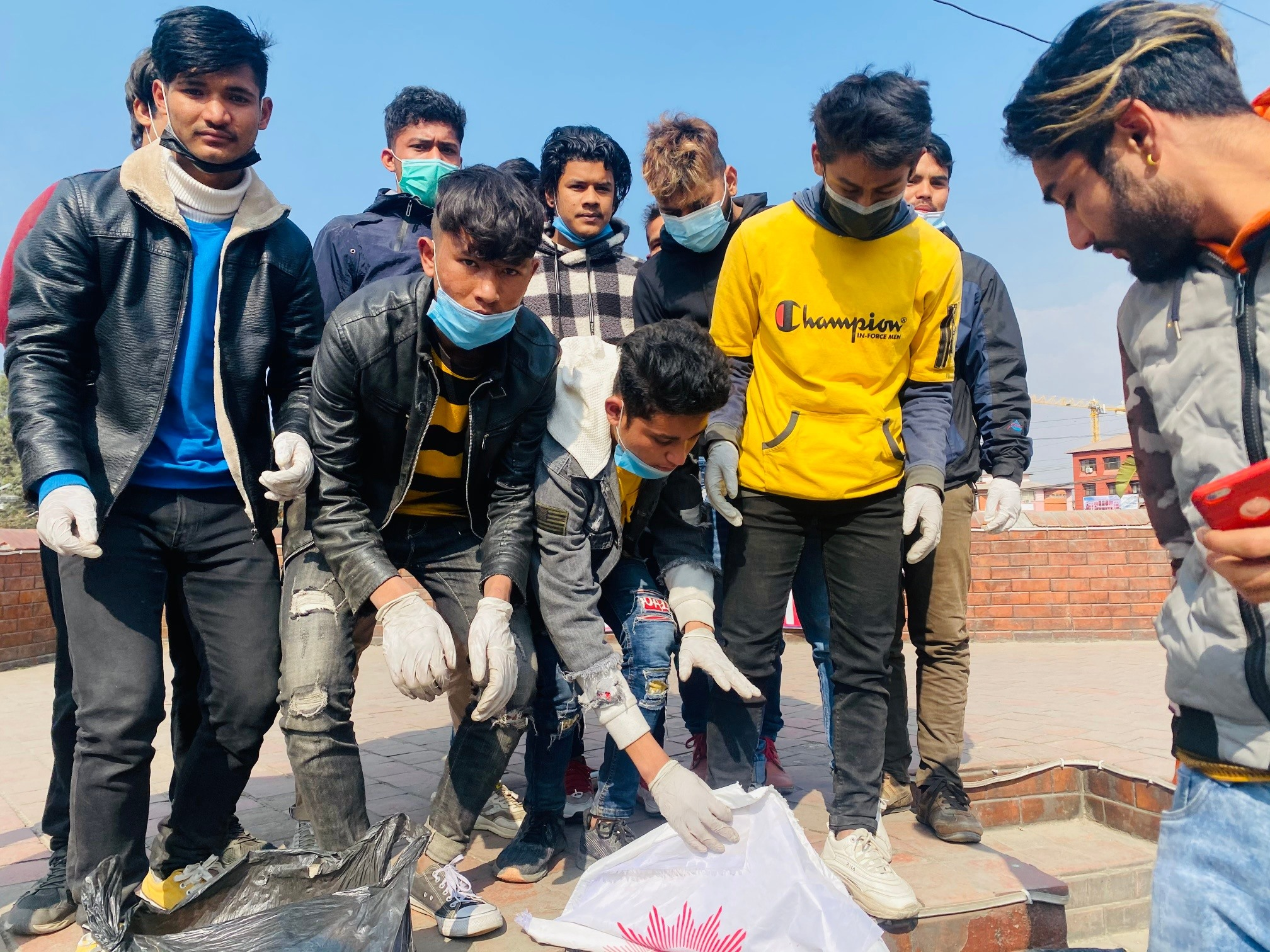 himesh kp cleaning campaign