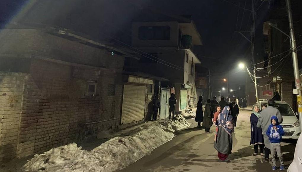 india earthquake