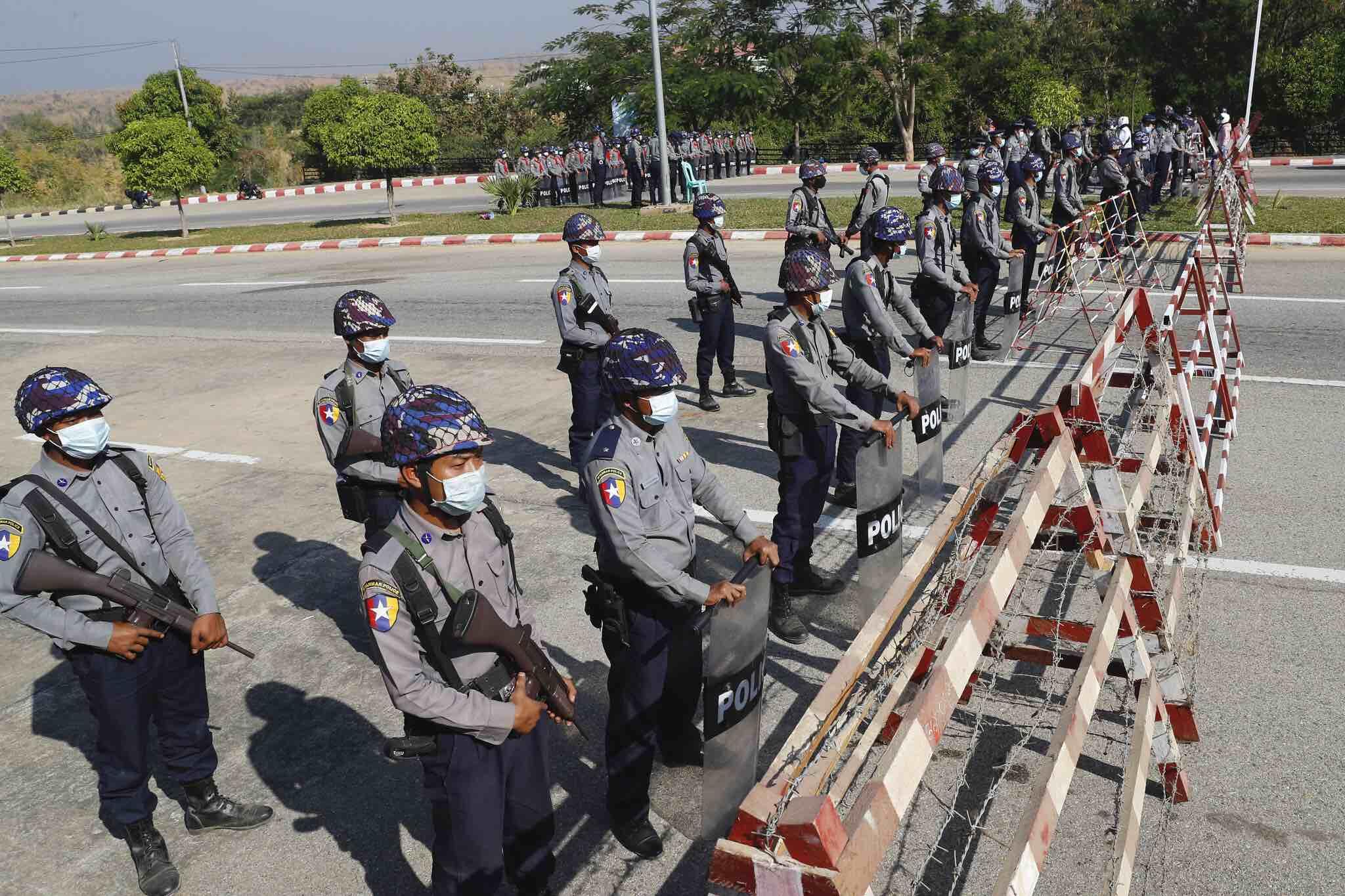 myanmaar coup