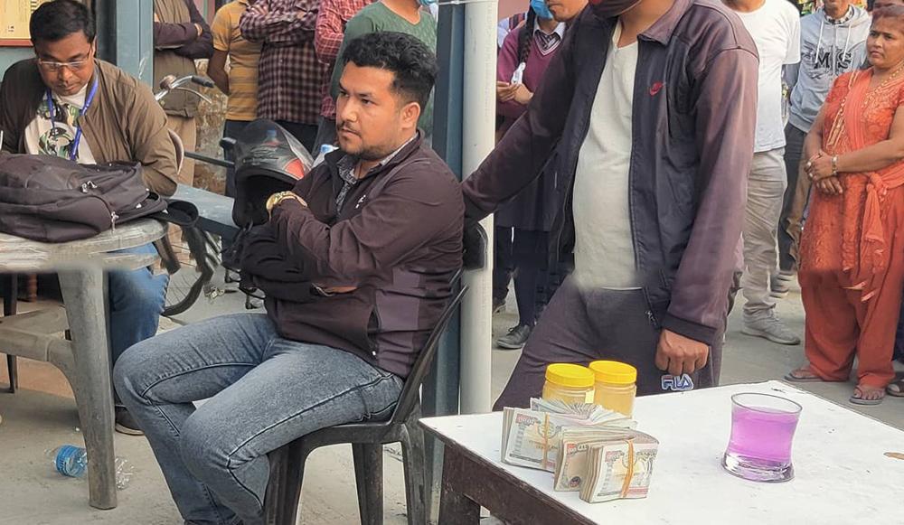 pharmacy bribe ciaa arrest biratnagar