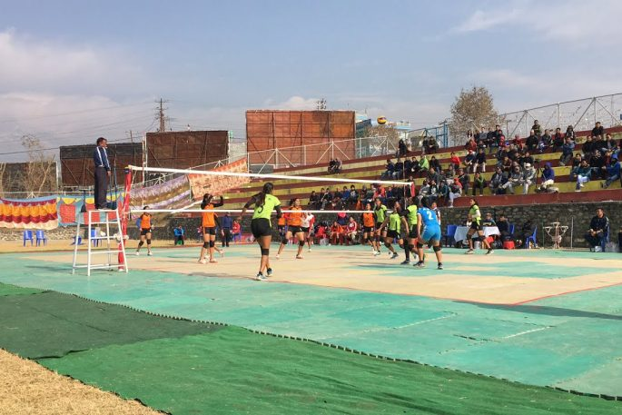 volleyball women cup pokhara