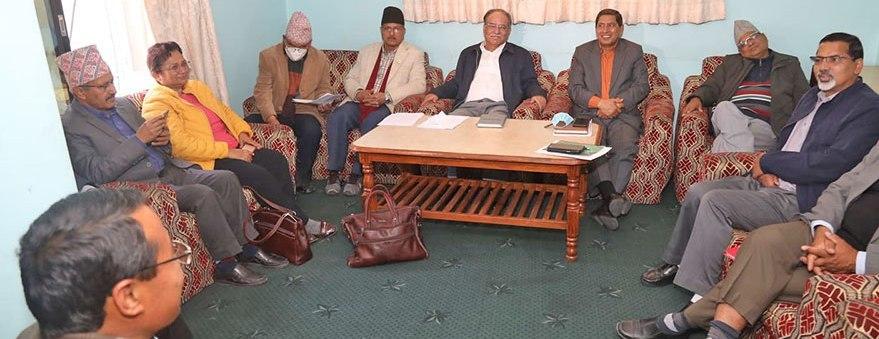 Nekapa Maobadi Kendra Sthai Committe meeting