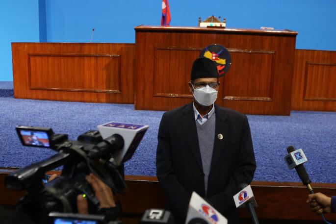 agni sapkota nepal parliament