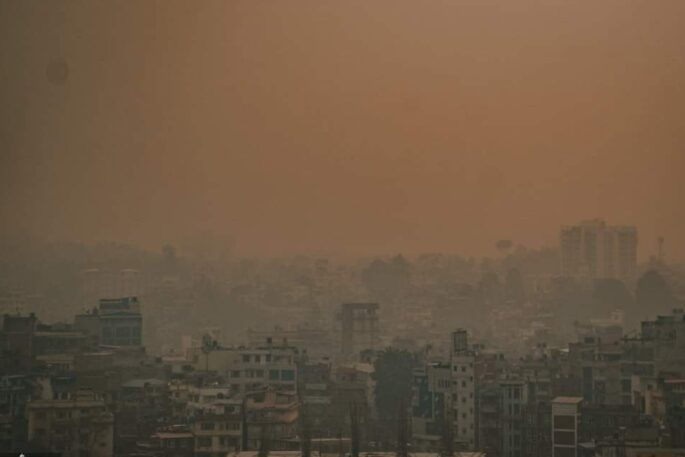 air quality kathmandu