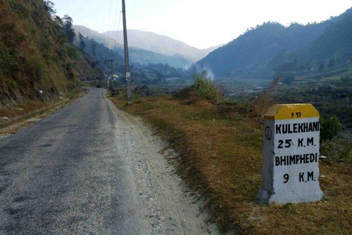 bhimphedi kulekhani road