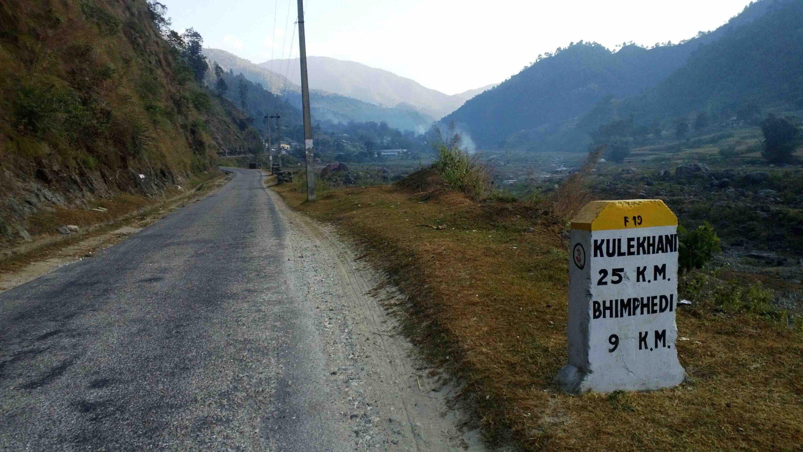 bhimphedi kulekhani road scaled