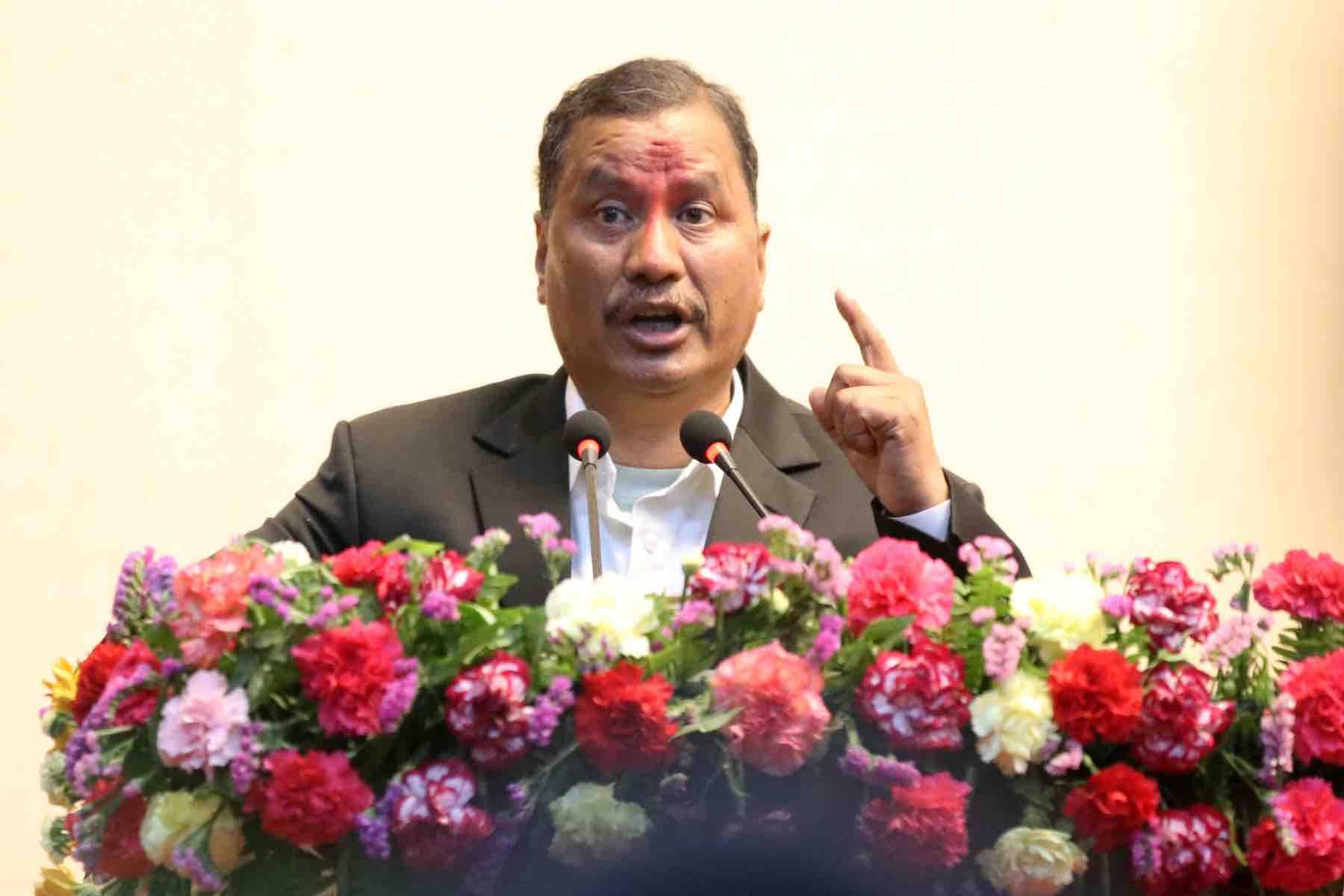 biplab addressing nepal government agreement