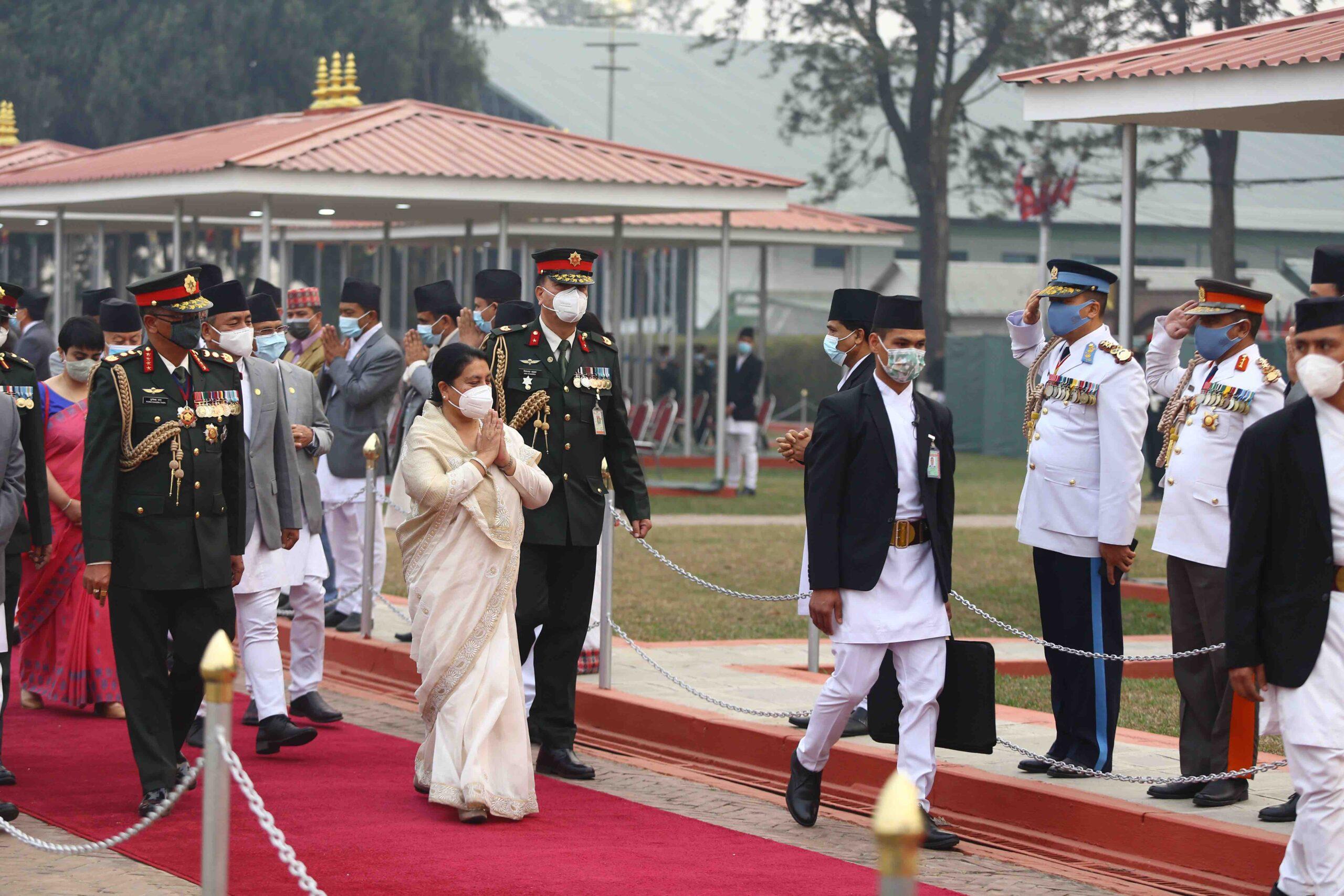 president bhandari returns nepal from bangladesh scaled
