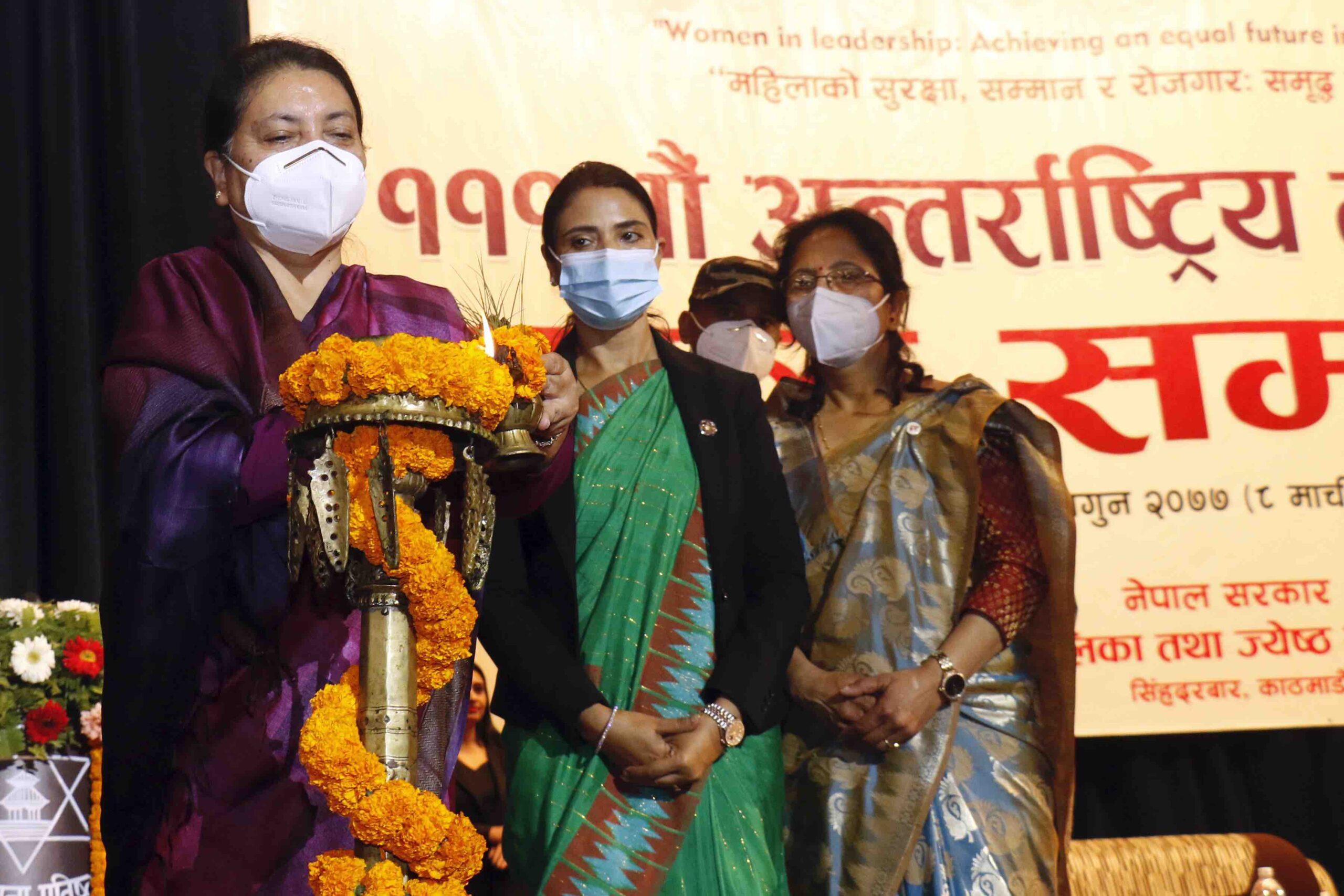 womens day bidhya devi bhandari scaled