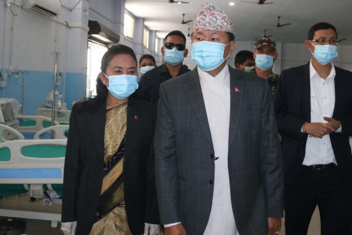 MD Morang CovidHospitale