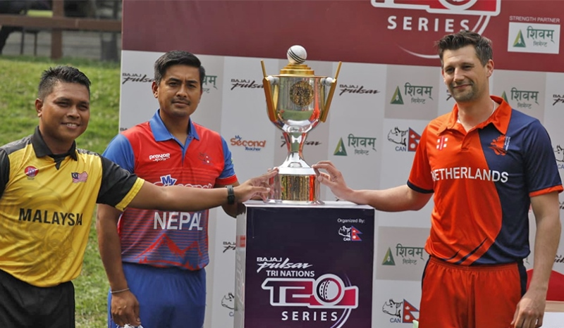 Tri nations cup trophy