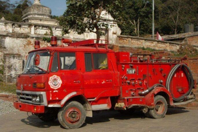 firre truck nepal