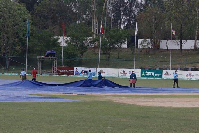 match interrupted cricket