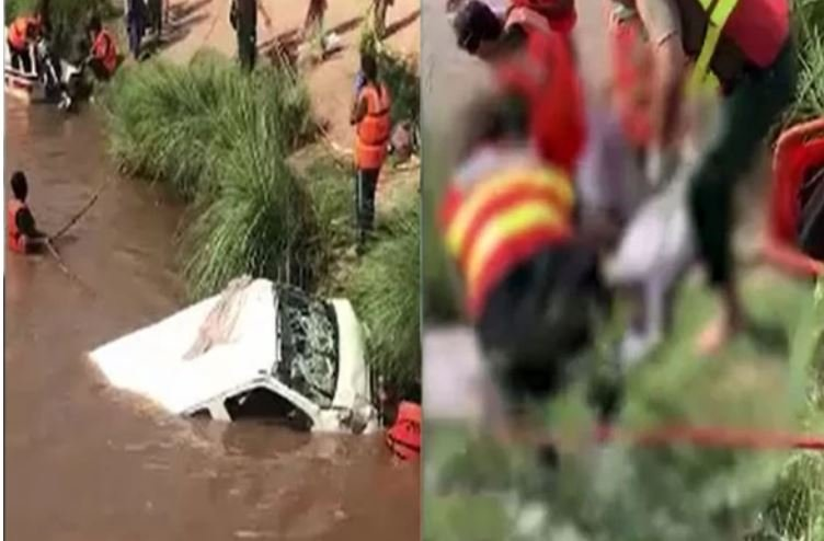 609f95a6cccb7 Van Drowned In Pakistan