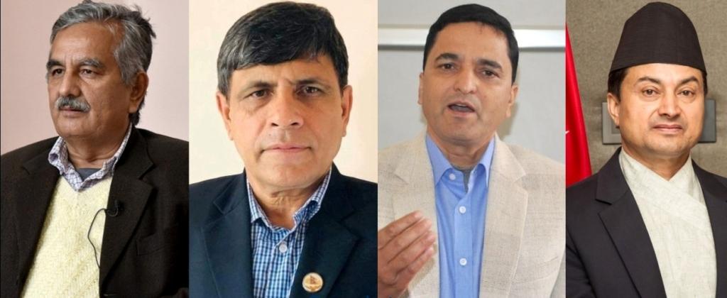 Surendra Pandey GhanashyamBhusal Yogesh Bhattarai and Gokarna Bista 1024x420 1