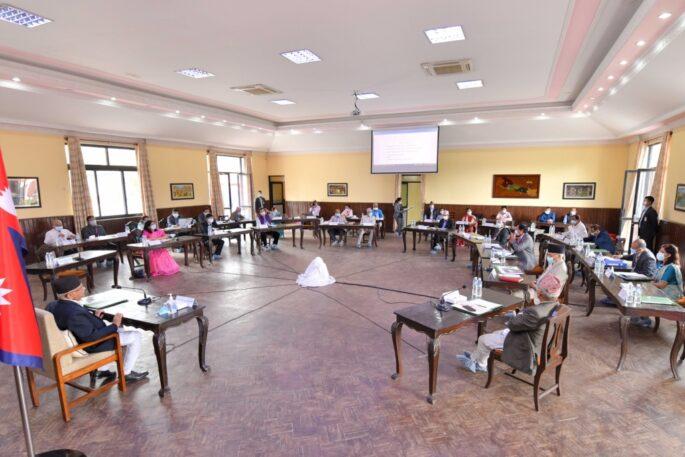 सम्माननीय प्रधानमन्त्री ज्यूबाट चिकित्सा शिक्षा आयोग सातौं बैठकलाई सम्बोधन 5 1024x682 1