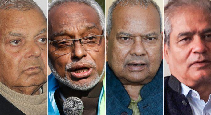 Mahantha thakur rajendra mahato laxman lal karna and sarbendra nath sukla 750x375 1