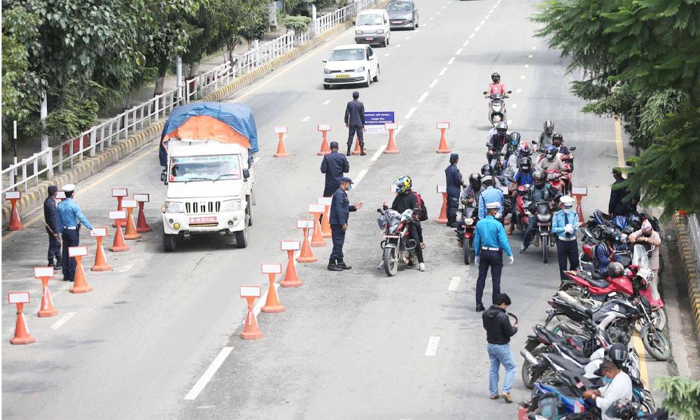 bike holding kathmandhu