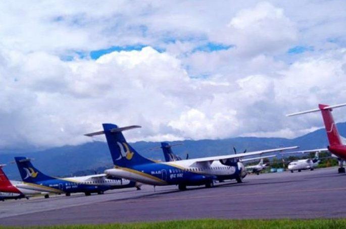 domastic air flight