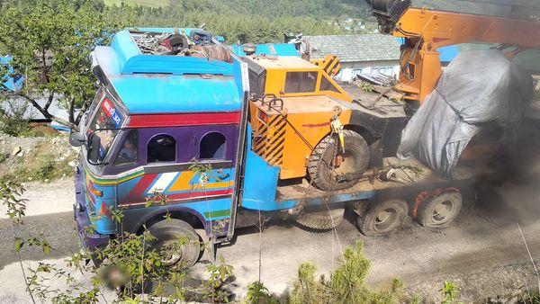 truck pokhara
