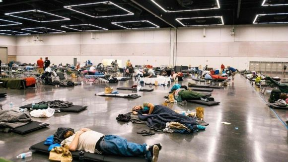 Portland residents have flocked to cooling centres