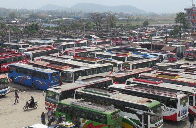 buses in nepal