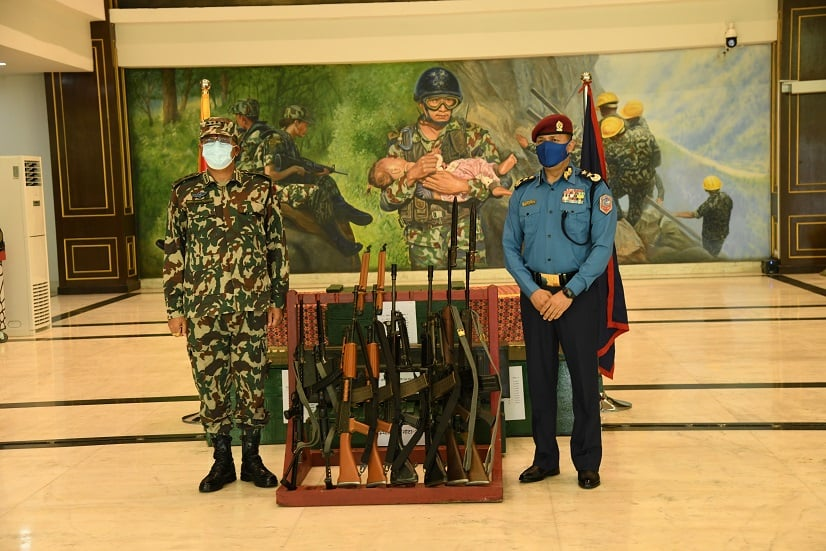 nepal police army