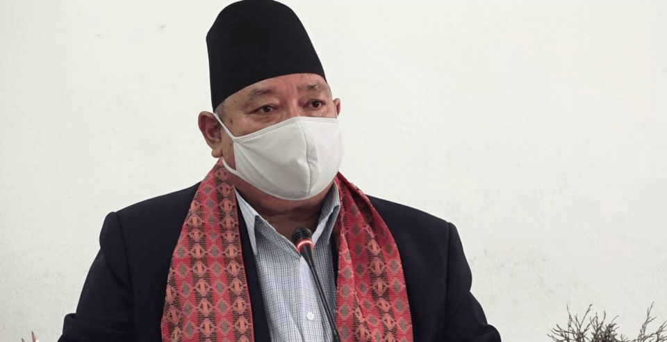 umesh shrestha minister health state