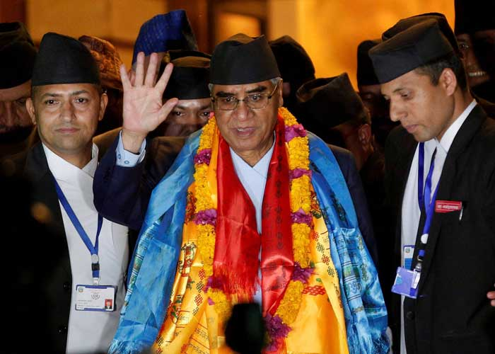 Sher Bahadur Deuba Nepal PM 1