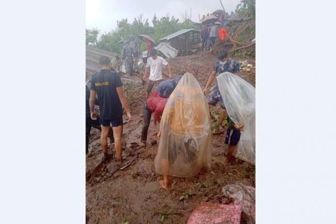 nawalpur flood 1
