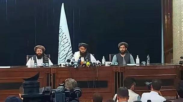 taliban first press meet