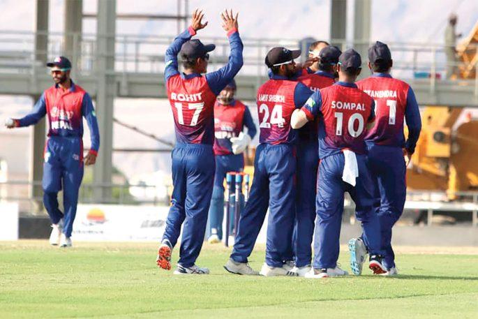 nepal vs oman 2021 win