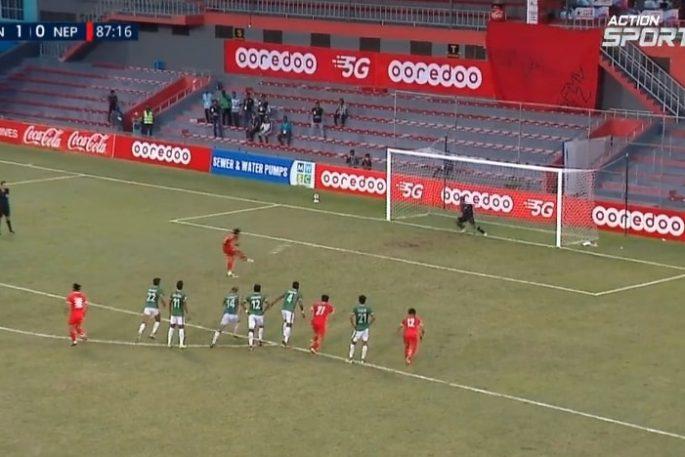 anjan bista saaf penalty bangladesh