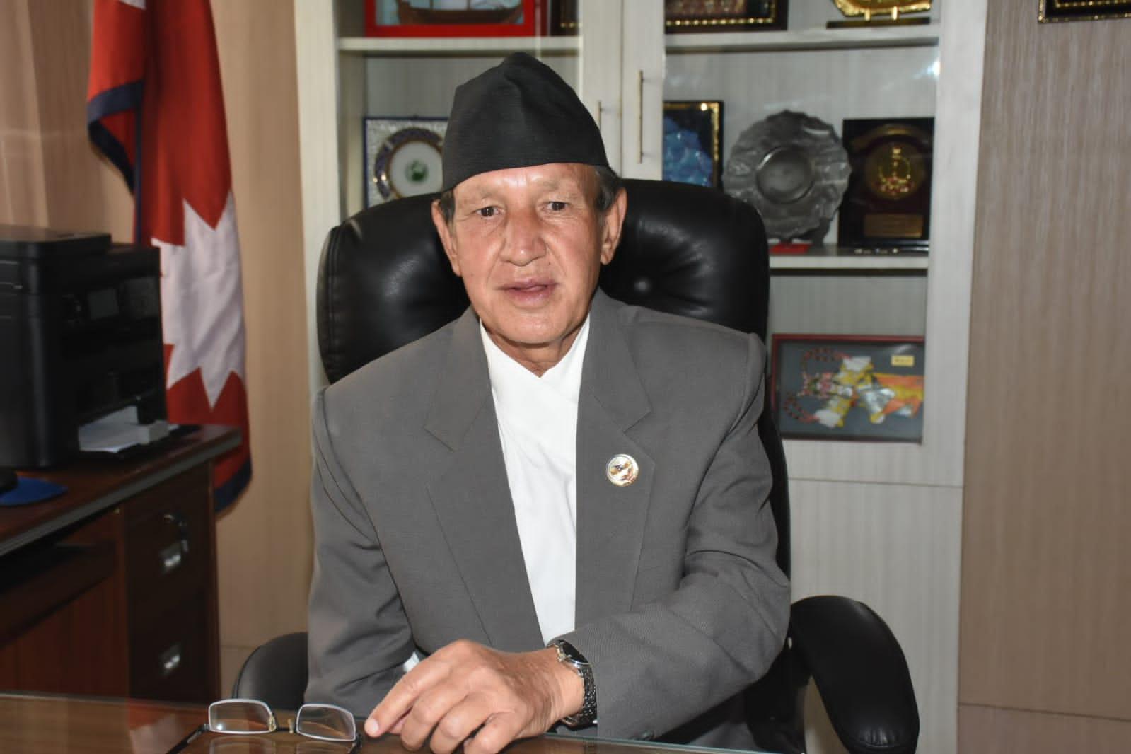 minister dr. narayan khadka 17
